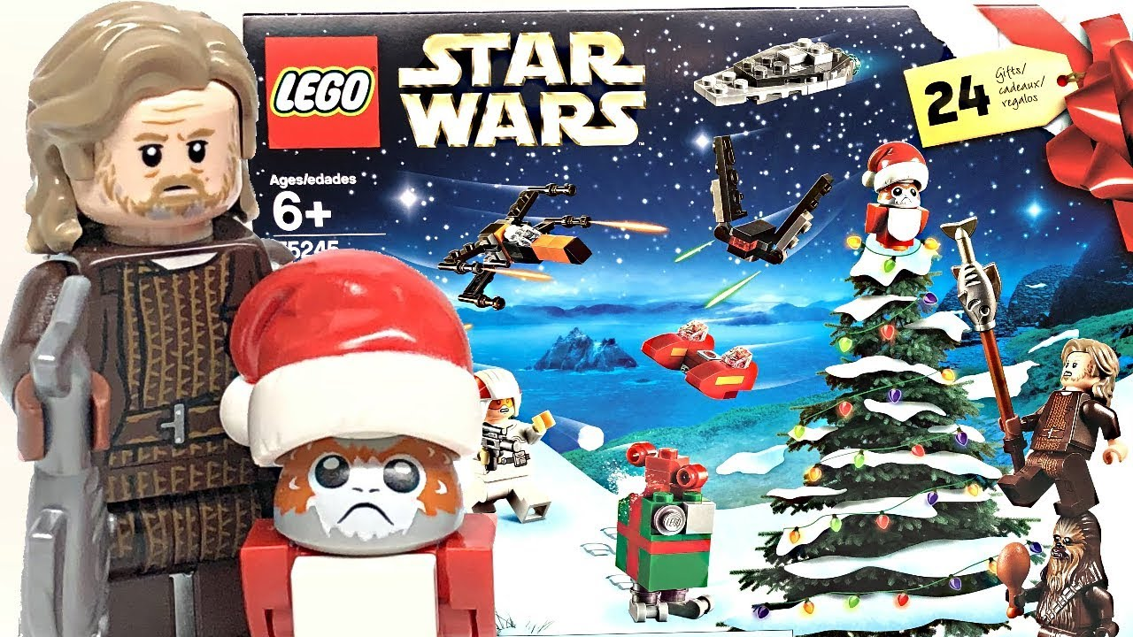 Calendrier Star Wars 2019.Lego Star Wars 2019 Advent Calendar Review And Unboxing