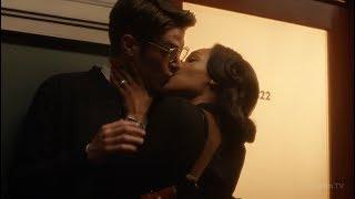 Поцелуй Барри и Айрис Земли-2 | Флэш (2 сезон 13 серия)