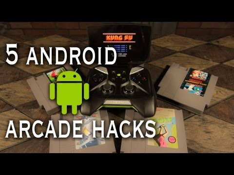 5 Amazing Android Arcade Hacks