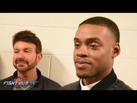 Errol Spence 'Chocolate Brownie?! We dont say that type of stuff in the U.S.!'