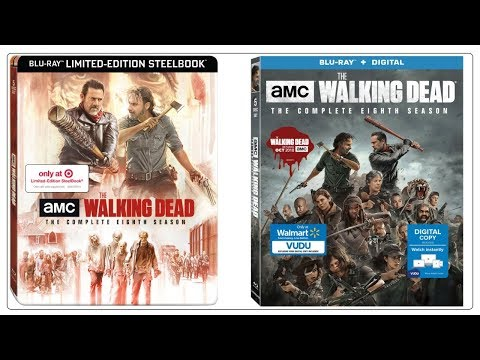 The Walking Dead Season 8 Blu Ray Packaging Reveal Target