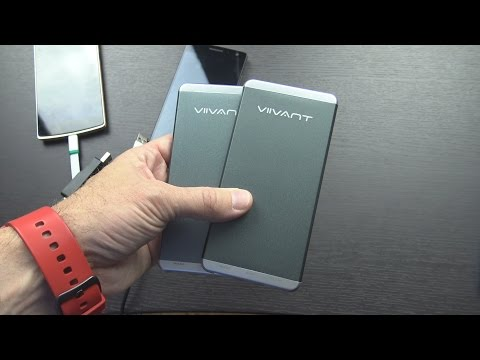 Viivant 5000mAh Portable USB Battery Charger Unboxing and Review