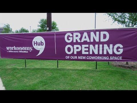 Office Depot Workonomy Hub Opens In Irving