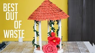 BEST OUT OF WASTE | AWESOME ROOM DECOR IDEAS |PAPER HOUSE MAKING|