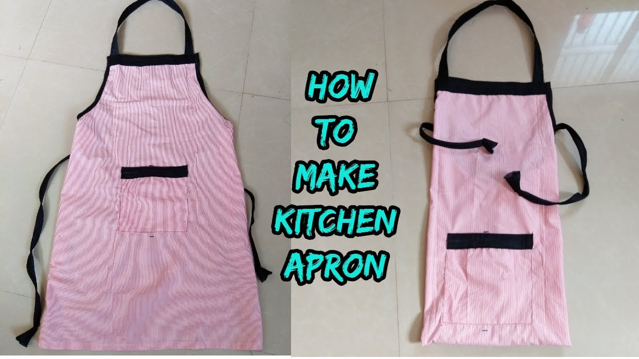 How to Make Apron at Home