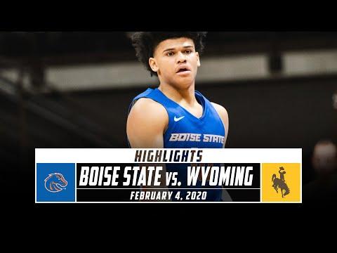Boise State Vs. Wyoming Basketball Highlights (2019-20) | Stadium