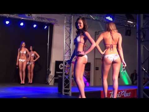 Miss Alpok Adria és Győr-Moson-Sopron megye szépe, 2014, bikini, (1080p HD)