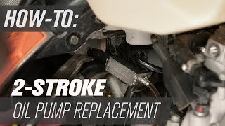 2 Stroke Oil Injector Pump Replacement | KTM and Husqvarna
