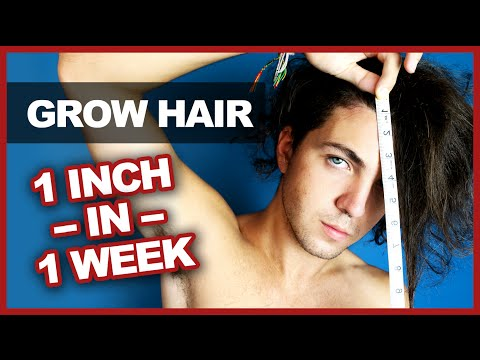 Grow Your Hair 1 Inch in 1 Week – Myth Bust