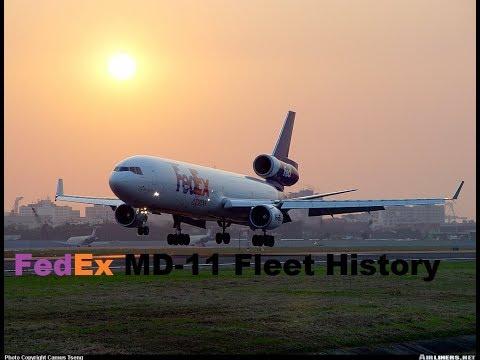 Federal Express/FedEx McDonnel Douglas MD-11 Fleet History (1991-Present)