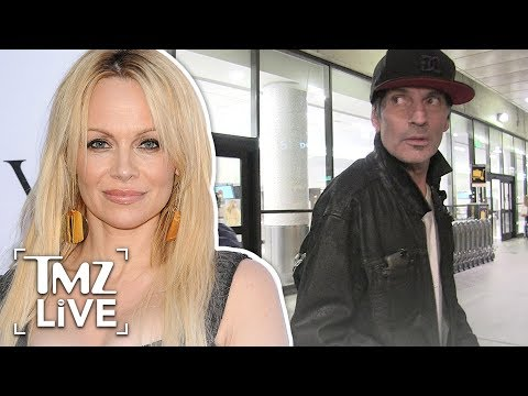 Pam Anderson: Tommy Lee Got Punched As Payback For All the People He Hurt | TMZ Live