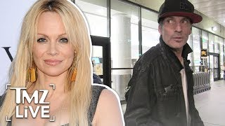 connectYoutube - Pam Anderson: Tommy Lee Got Punched As Payback For All the People He Hurt | TMZ Live
