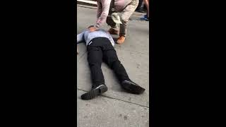 Vicious Knock Out in Times Sqaure NY