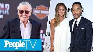 Marvel Comics' Stan Lee Dies At 95, Chrissy Teigen Cries Talking About John Legend | LIVE | PeopleTV