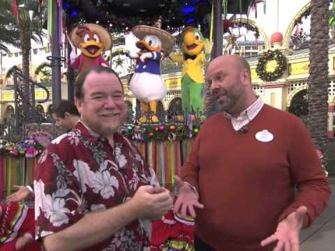 Interview with David Duffy, Creative Director, Walt Disney Parks and Resorts at Viva Navidad at DCA
