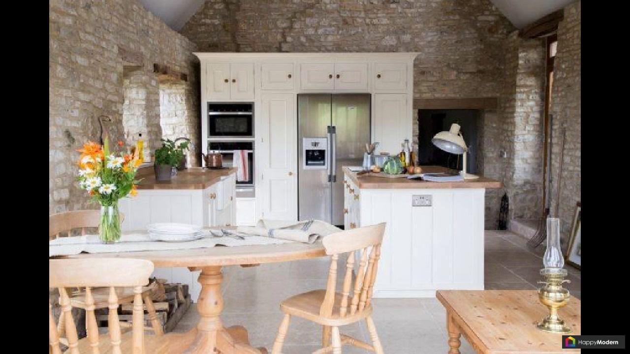 белая кухня с деревянной столешницей 70 лучших реализаций Youtube