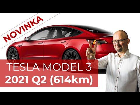 NOVINKA! TESLA MODEL 3 2021 Q2