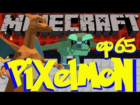 Pixelmon Ep. 65 - Fighting Our Way To The Desert! (Minecraft