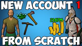 Runescape: New Account From Scratch - Episode 1