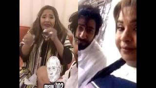 شاهد محمود بوشهري وهيا الشعبيبي يرقصان على
