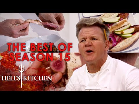 The BEST Moments From Hell's Kitchen Season 15