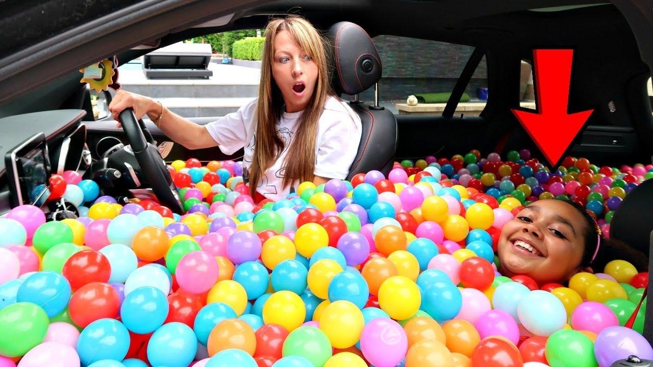 Ball Pit Prank In My Mom S Car Clipzui Com
