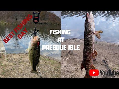 Fishing Down At Presque Isle