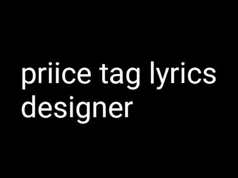 Desiigner - priice tag(lyrics)