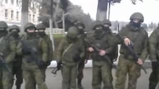 Украинские офицеры против российского спецназа. Второжение россиян в УКраину