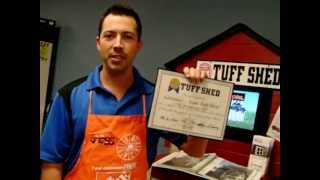 """""""the Challenge""""  Lawrence Home Depot 112% Increase Tuff Shed Sales"""