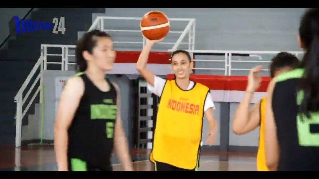 Yuk Ngintip Latihan Timnas Basket Putri Sebelum Berlaga Di ASEAN Games 2018