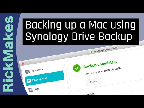 Download Backing up a Mac using Synology Drive Backup