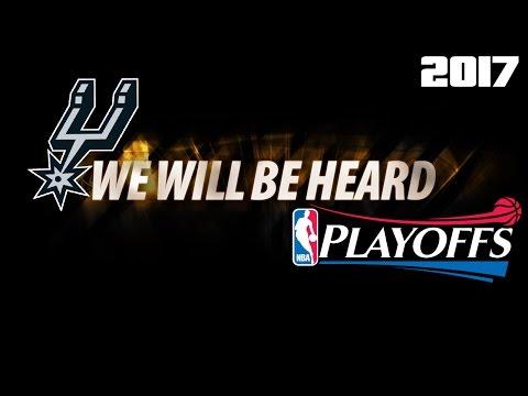 San Antonio Spurs 2017 Playoffs Hype Video