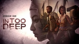 "The Walking Dead: Michonne Episode 1 All Cutscenes (Game Movie) ""In Too Deep"" 1080p HD"