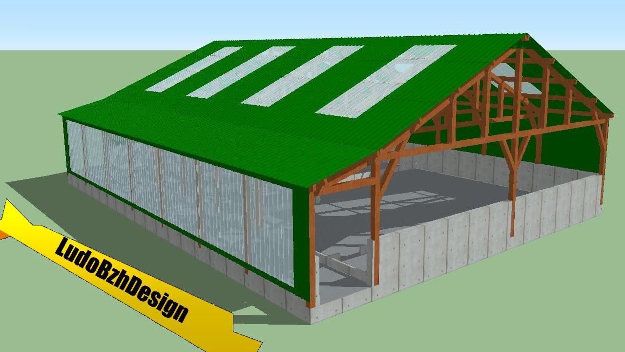 Construction hangar agricole miniature - Construction hangar agricole ...