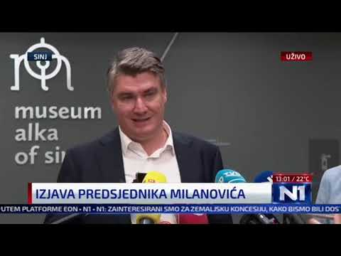 Milanović podržao Dobronića