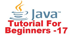 Java Tutorial For Beginners 17 - Parameter passing and Returning a Value from a Method