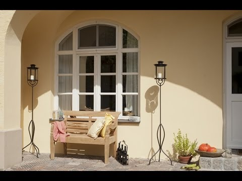 im landhausstil dekorieren garten terrasse balkon. Black Bedroom Furniture Sets. Home Design Ideas