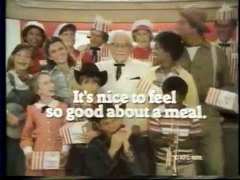 Colonel Sanders 1978 KFC Commercial