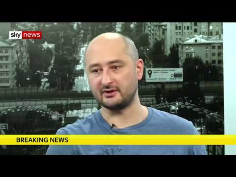 'Dead' Kremlin critic Arkady Babchenko is alive