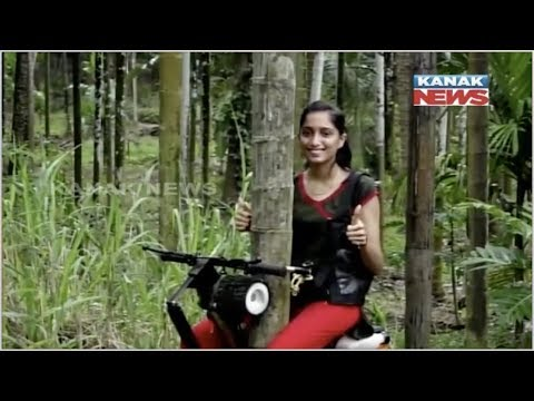 Karnataka Farmer Develops 'Bike' To Climb Arecanut Trees