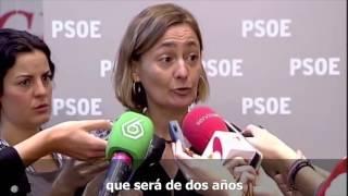 Luz Rodríguez: Crear subsidio por desempleo de 426€ al mes