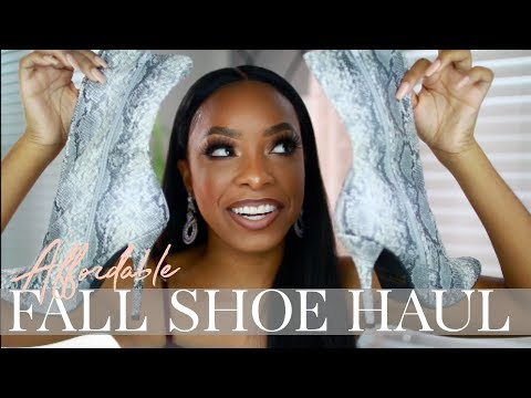 I SPENT $135 ON GOJANE!!! ARE THESE SHOES WORTH IT? | AFFORDABLE FALL SHOE HAUL