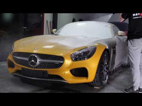 Mercedes AMG GTS MotoSpa Gdańsk Promotional video