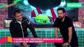 Al Ángulo: Claudio Vivas, entrenador de Sporting Cristal | ENTREVISTA Parte 3