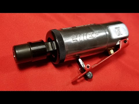 Harbor Freight Chief Industrial Mini Die Grinder Test & Review