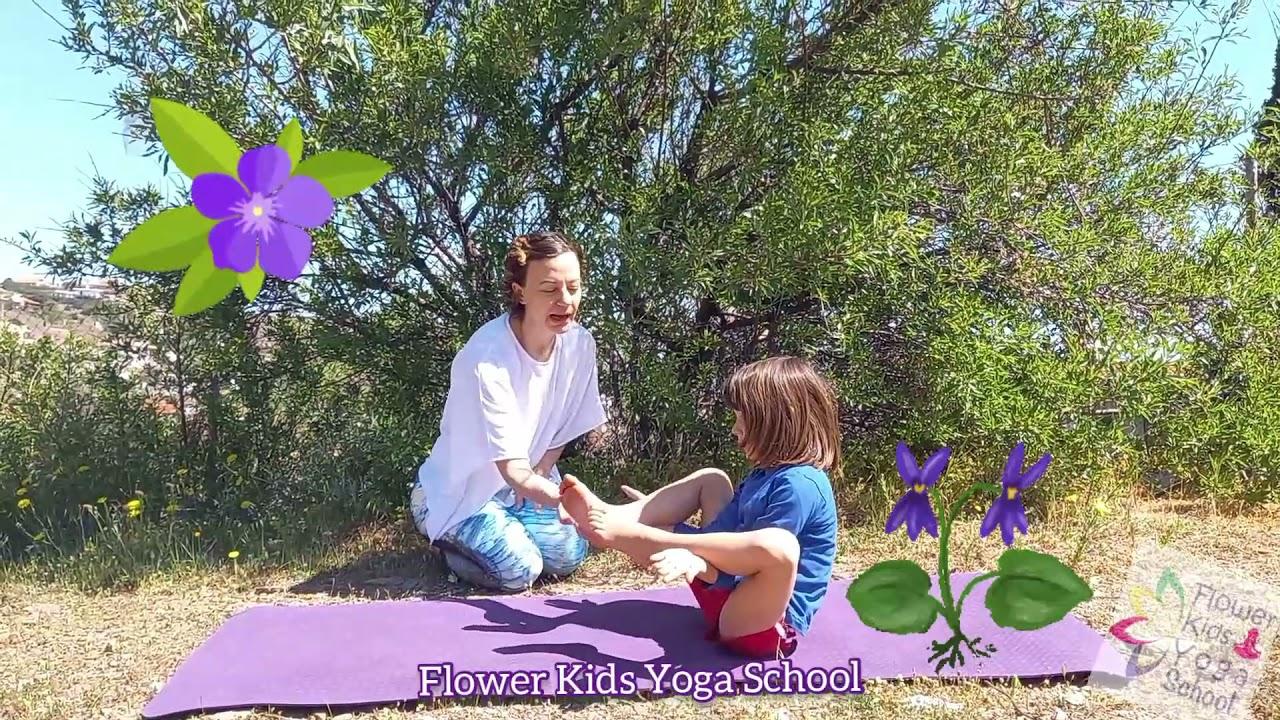 """10 Στάσεις Yoga για παιδιά που """"μυρίζουν"""" Άνοιξη!"""