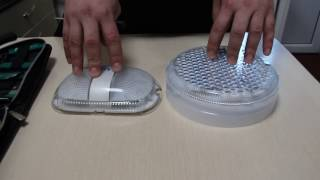 Сравнение двух светодиодных светильников для ЖКХ. Обзор (светодиодные светильники ЛУЧ)