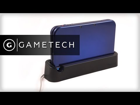New 3DS XL Charging Cradle Hands On - GameTech