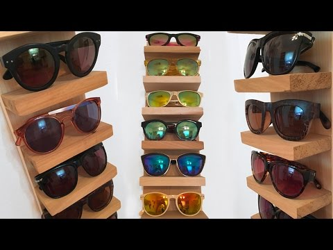 Sunglass Rack/Organizer DIY | Superholly